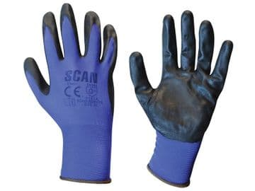 Max. Dexterity Nitrile Gloves - XL (Size 10)